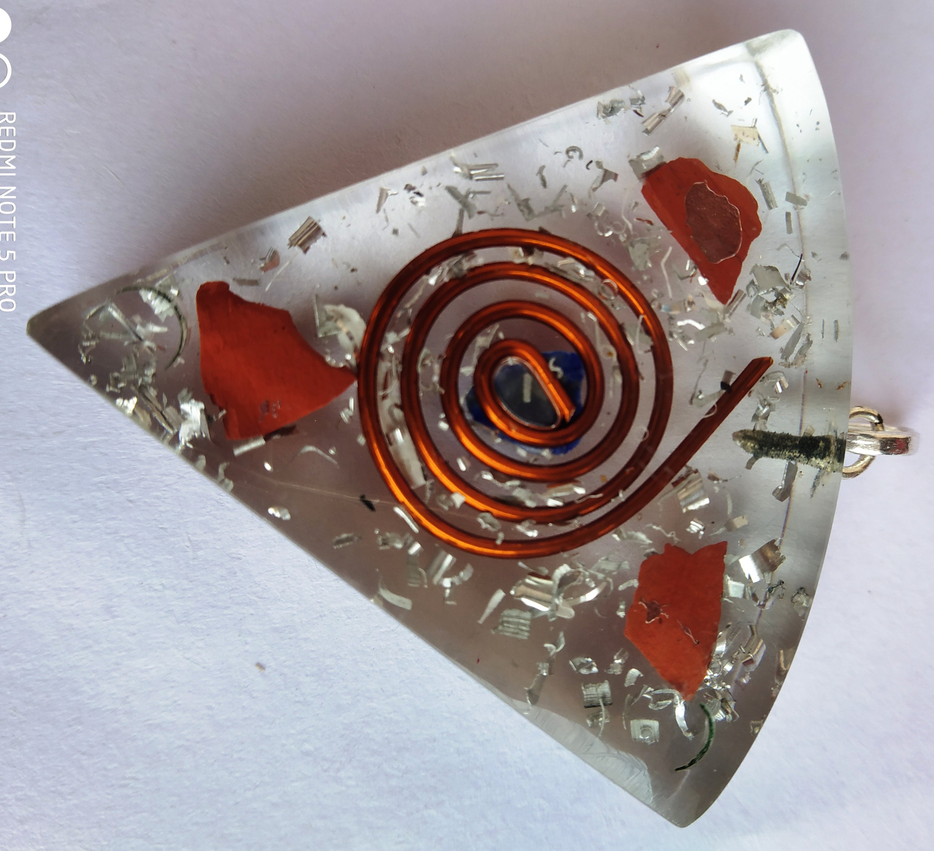 #Orgone pendant for Happiness