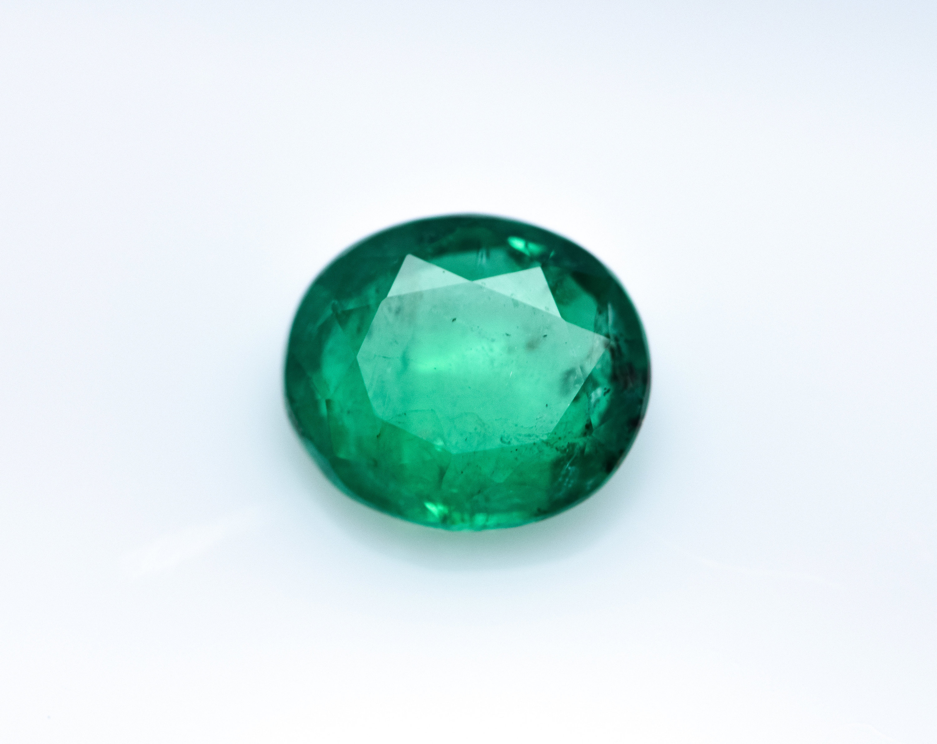 #Natural Green Emerald Loose Gemstone -5.0 ct IGI Certified - oil only