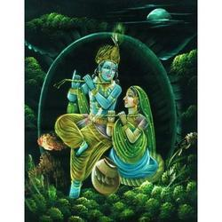 Painting Of Radha Krishna