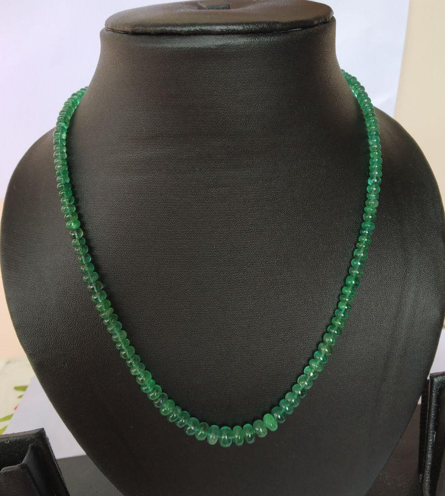 #Emerald Necklace