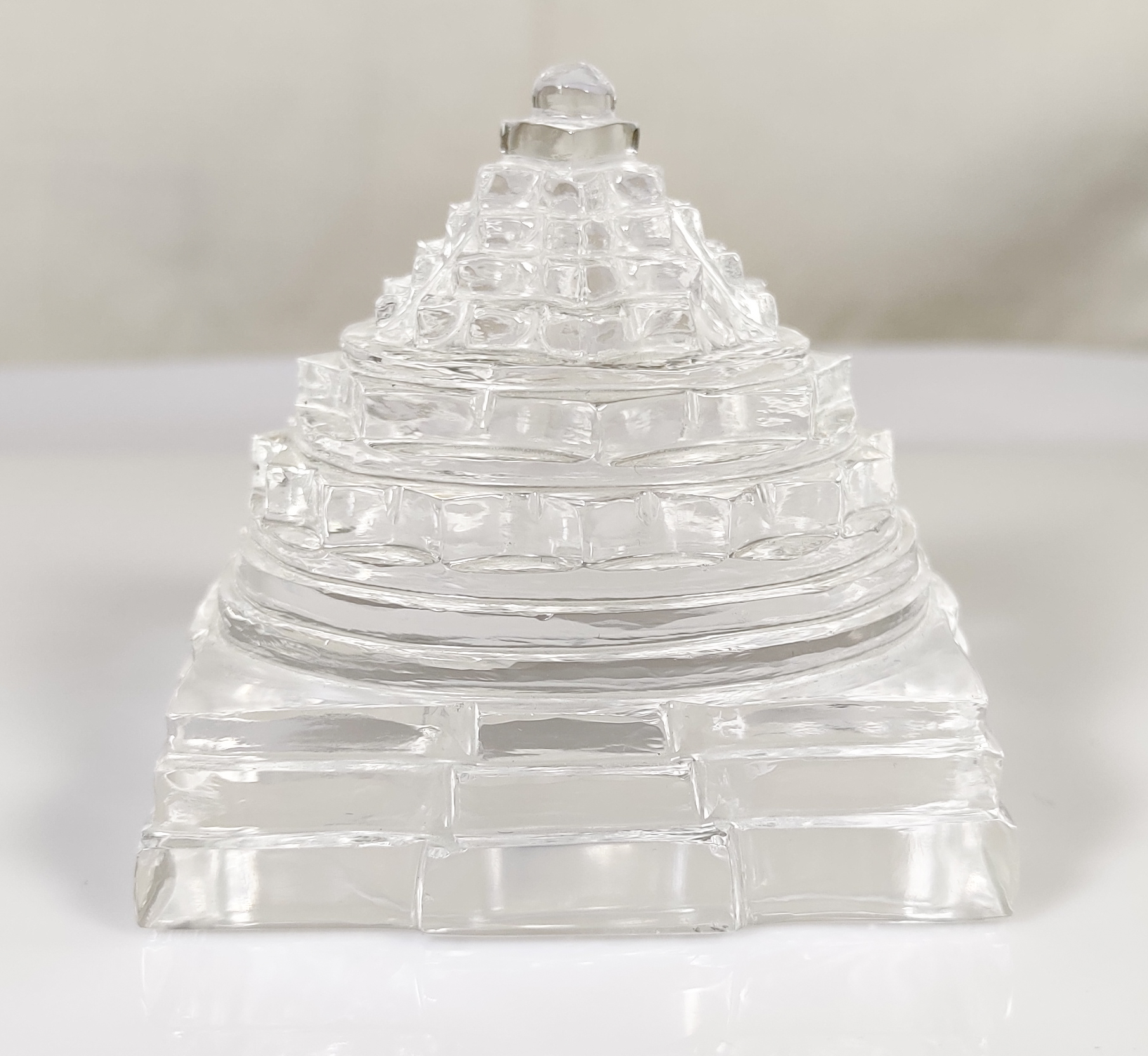 Natural Crystal Shree Yantra,329 Gram